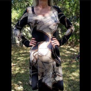 Karen Kane Long Sleeve Dress NWOT